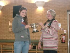 Natasha Hofton - TE Clarke winner 2012