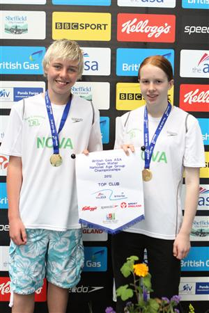 National Open Water Champions 2012