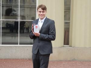 Ollie gets MBE