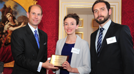 Retford Wins Volunteer Award