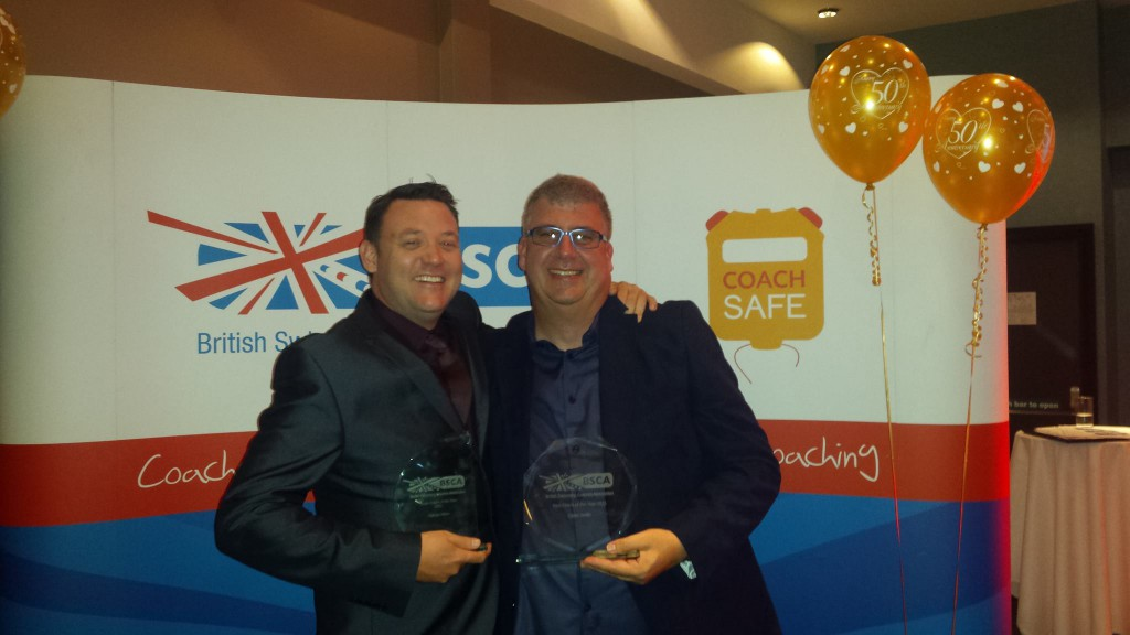 BSCA Awards 2015 Glenn & Nathan