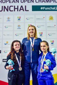 Charlotte Henshaw 100m Breast IPC Euroes 2016